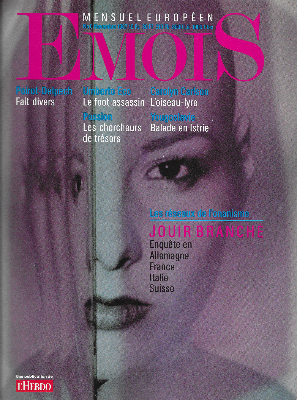 EMOIS n°6, novembre 1987