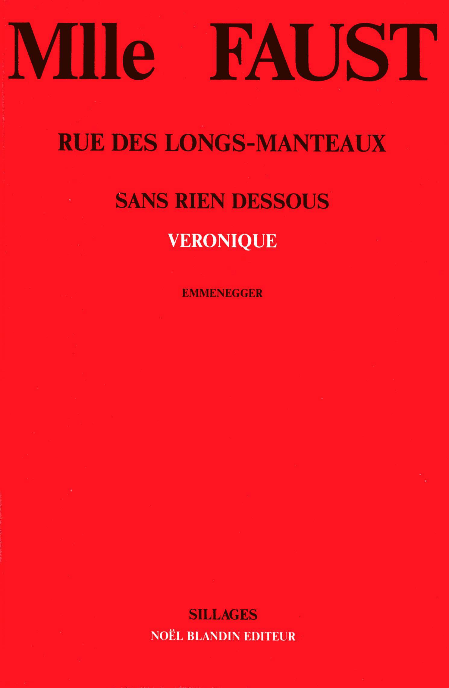 Mlle Faust – L'Hebdo, 10 décembre 1987