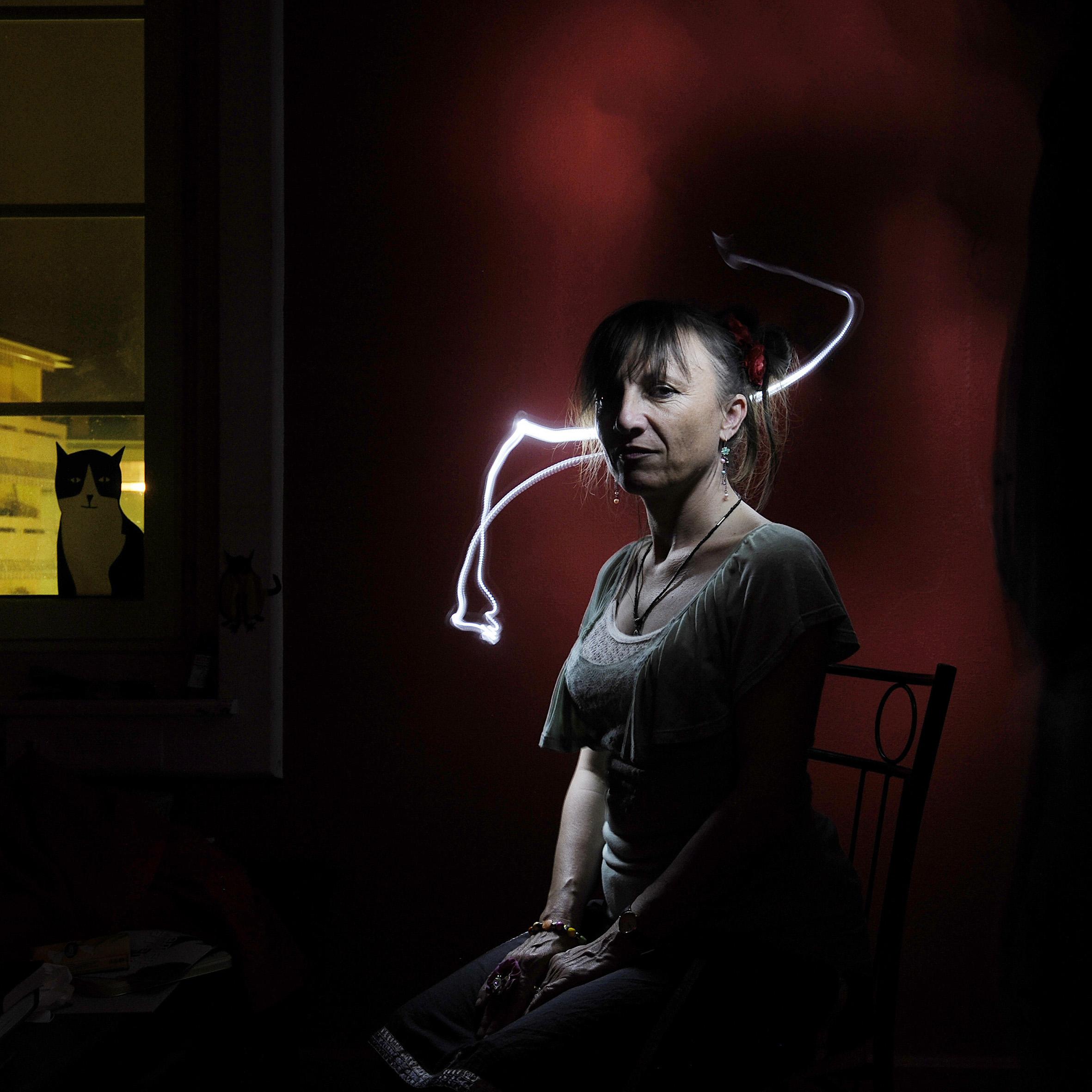 Portrait de Véronique Emmenegger par David Prêtre
