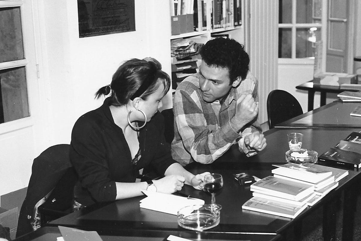 Véronique Emmenegger et Gilles Zenou