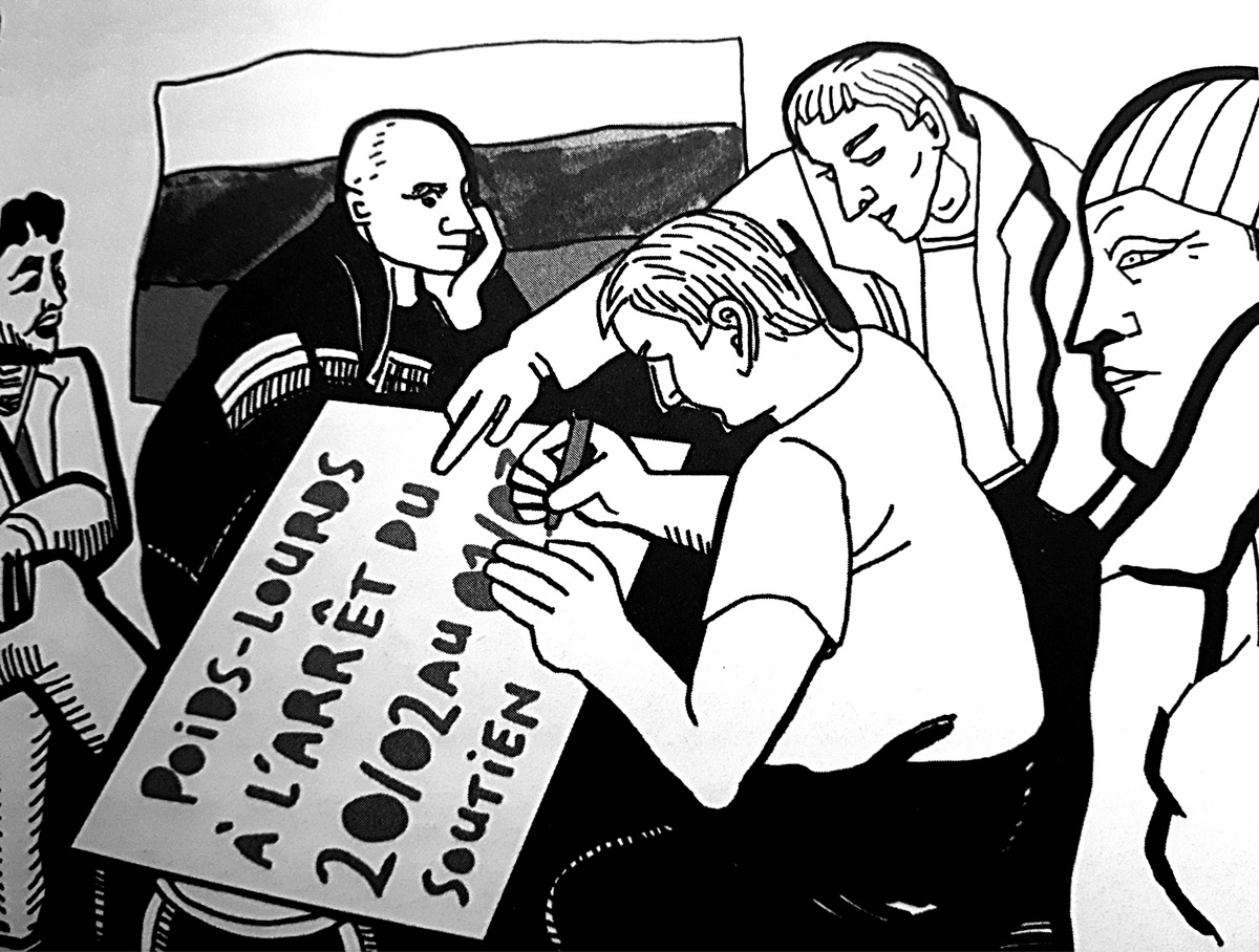 D'autres Russies, un reportage graphique de Victoria Lomasko