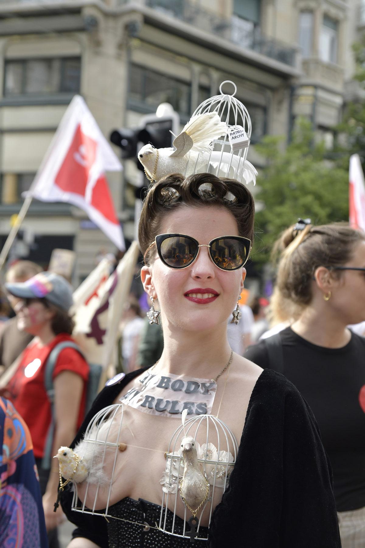 NOUS, au cœur de la grève féministe