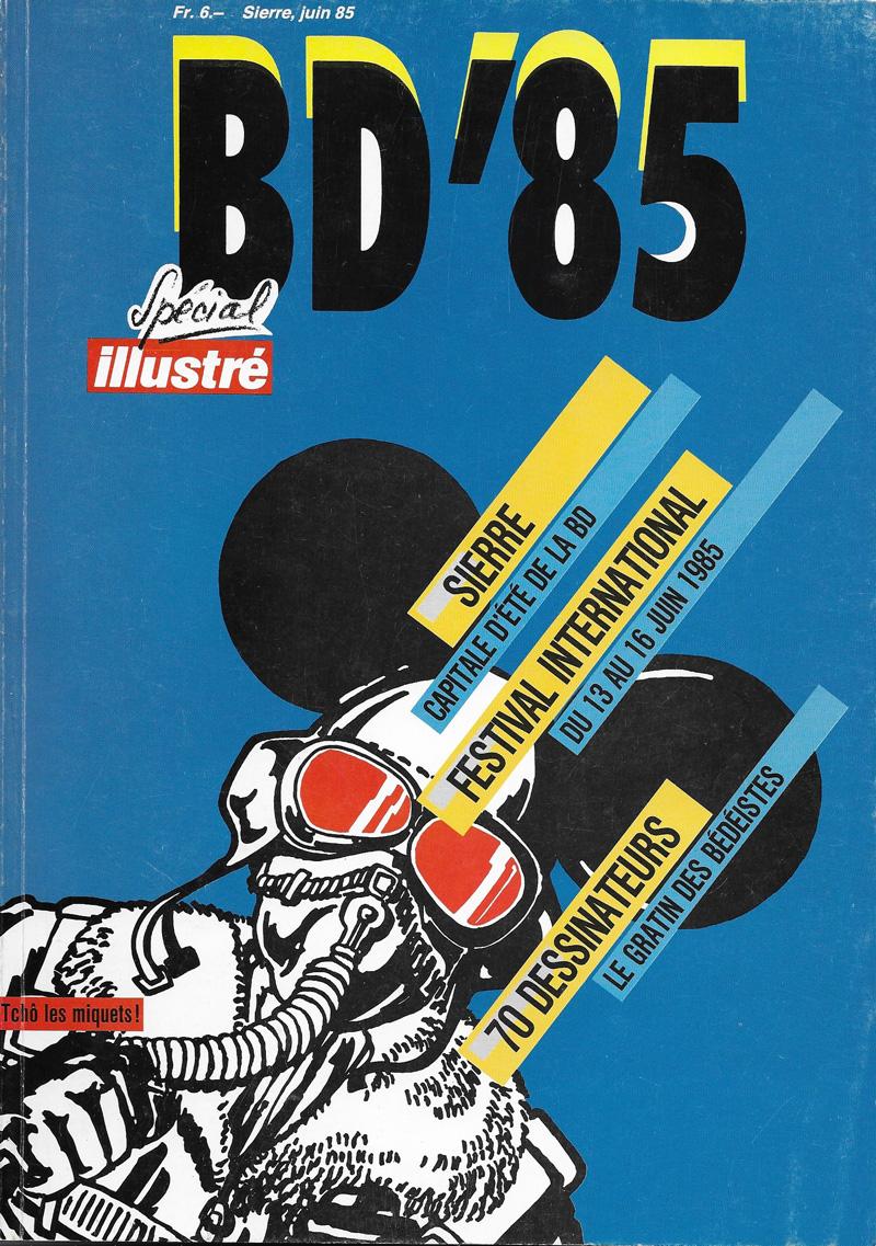 BD'85: Sierre, juin 85