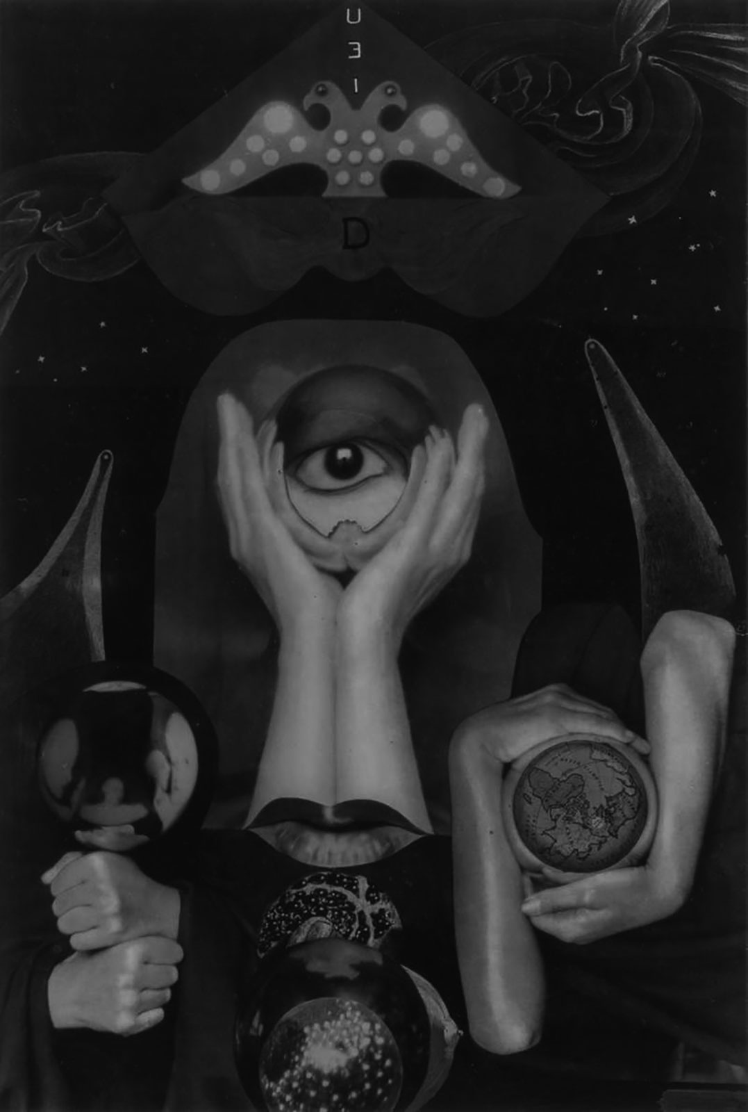 Collage de l'artiste Claude Cahun