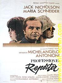 Profession reporter, l'affiche du film